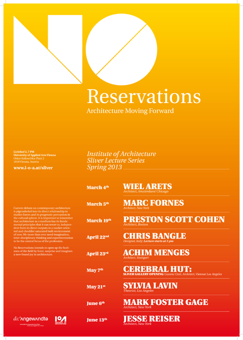 sliver_lecture_no_reservations_poster_SS_2013_04.indd