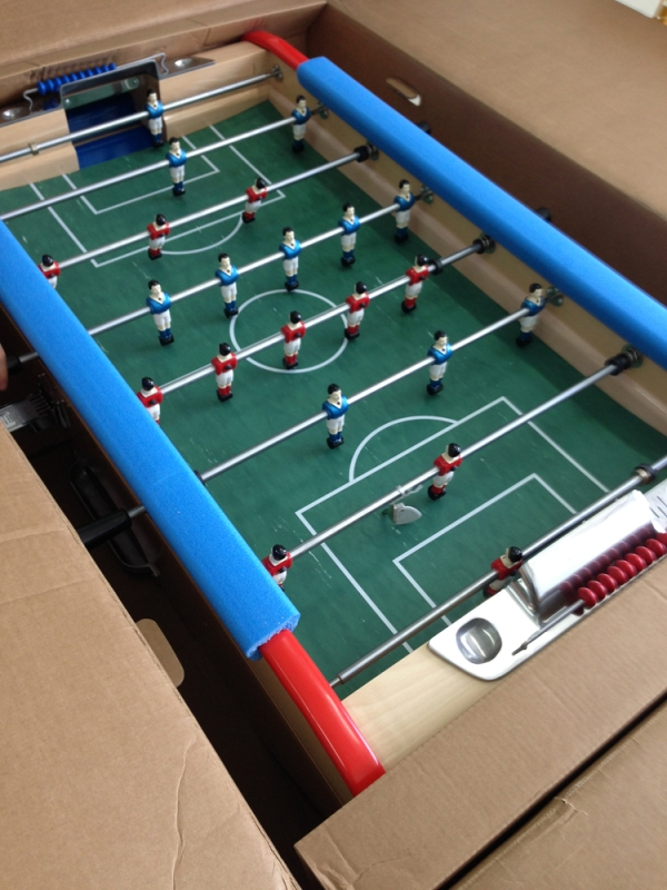 THEVERYMANY Bonzini Foosball Table MARC FORNES THEVERYMANY - Bonzini foosball table