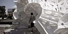 MARC FORNES THEVERYMANY Plastic Pavilion St Louis MO Digital Fabrication Danzer Aperiodic Tiling Packing